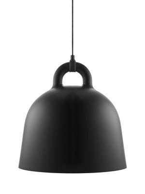 Foto Sospensione Bell / Medium Ø 42 cm - Normann Copenhagen - Bianco,Nero - Metallo