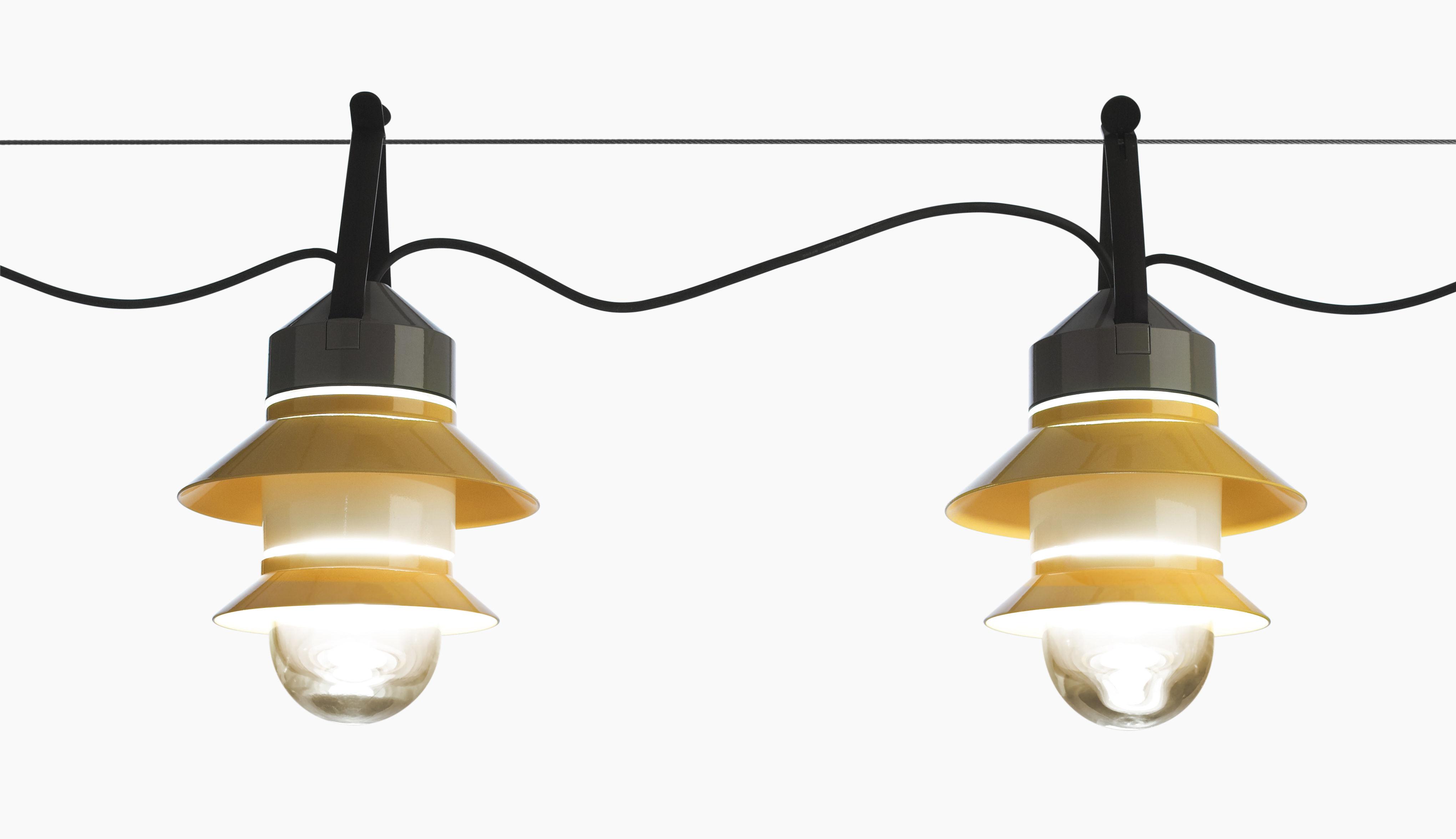 lampe santorini baladeuse suspendre jaune moutarde gris marset. Black Bedroom Furniture Sets. Home Design Ideas