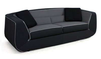 Canap convertible bump xl by ora ito 3 places l 238 cm noir gris pas - Canape dunlopillo convertible ...