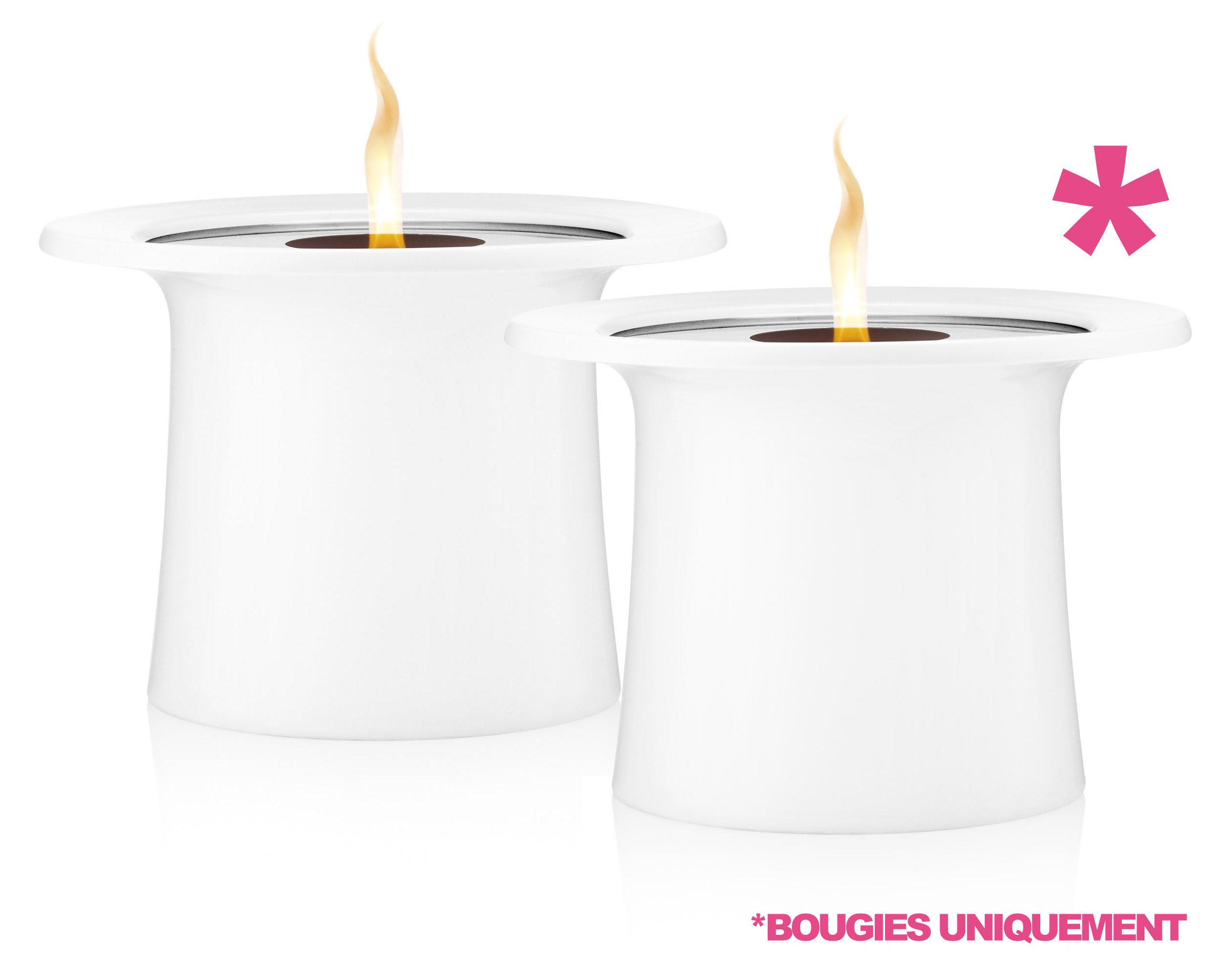 bougie lot de 2 pour photophore garden light blanc eva solo. Black Bedroom Furniture Sets. Home Design Ideas
