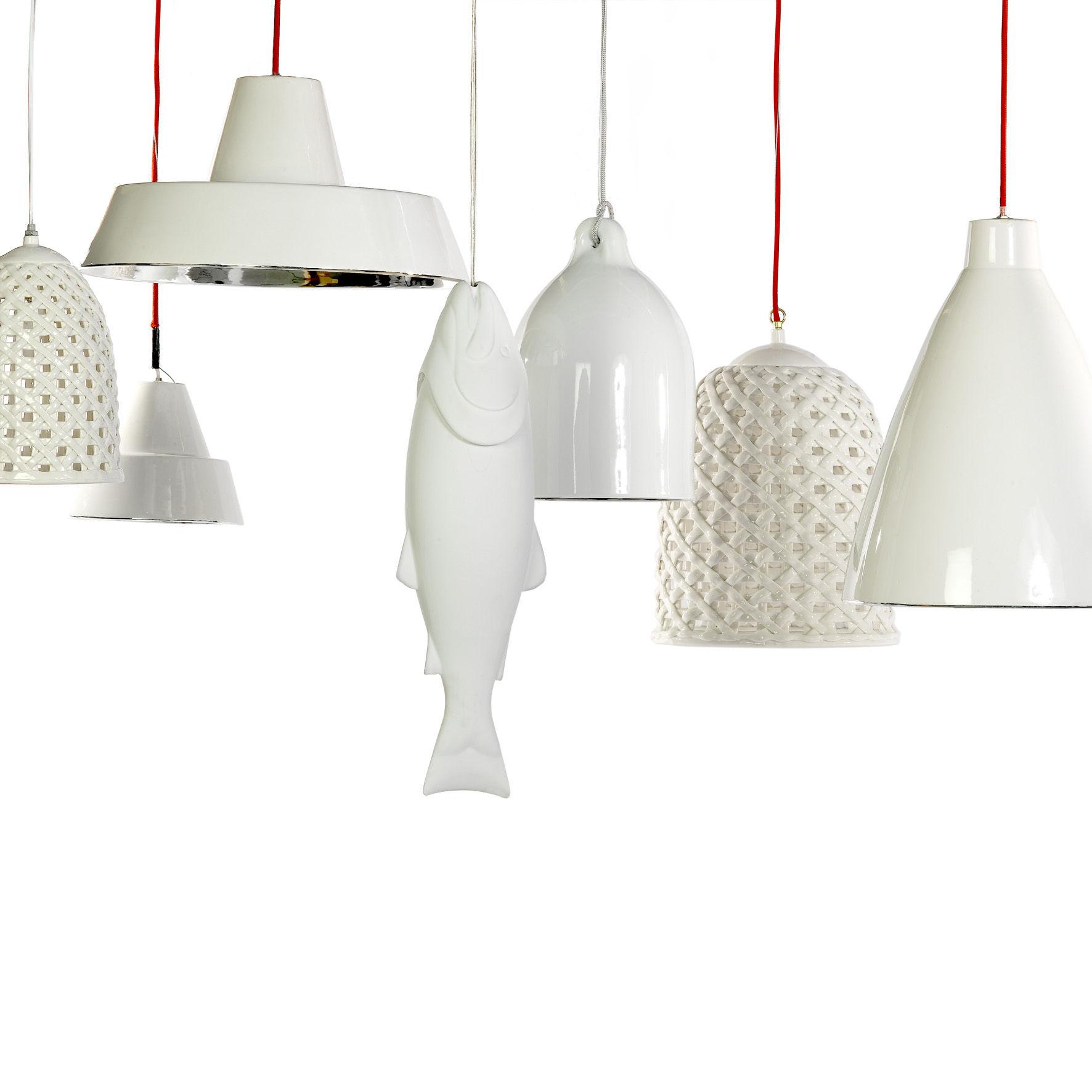 woven s pendant 21 cm white by pols potten. Black Bedroom Furniture Sets. Home Design Ideas