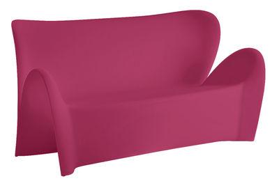 Foto Sofà Lily - 3 posti - L 179 cm di MyYour - Viola opaco - Materiale plastico