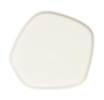 Foto Piatto Iittala X Issey Miyake / 21 x 20 cm - Iittala - Bianco - Ceramica