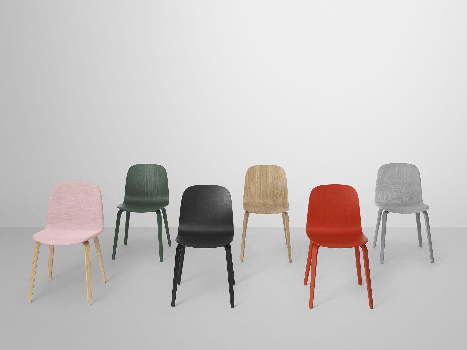 visu chair wood legs solid oak by muuto. Black Bedroom Furniture Sets. Home Design Ideas