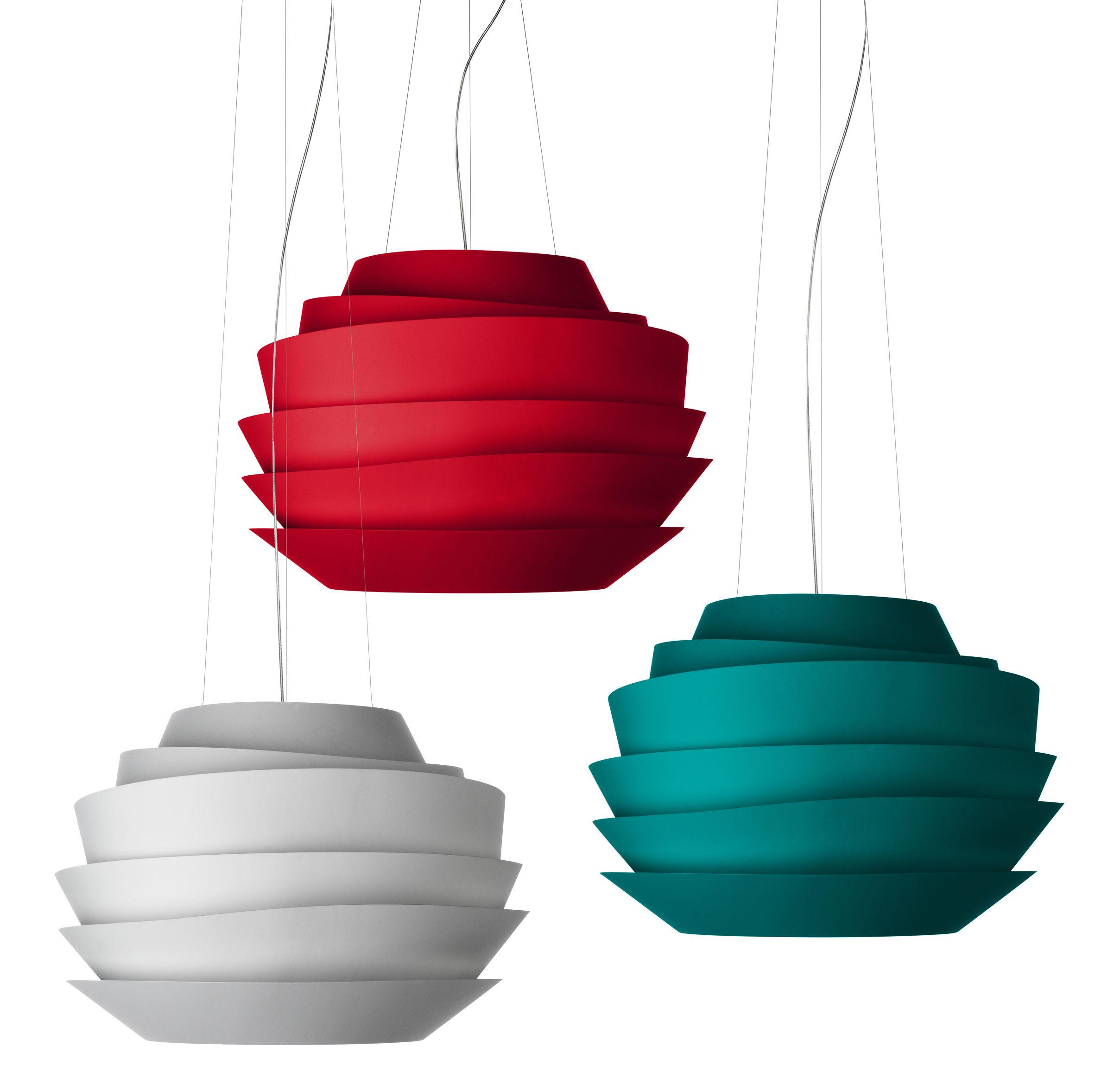 le soleil pendant red by foscarini. Black Bedroom Furniture Sets. Home Design Ideas