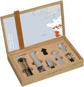 Cofanetto Oeno Box collector - /Cofanetto enologia apertura e servizio 6 pezzi di L'Atelier du Vin - Legno naturale - Sughero