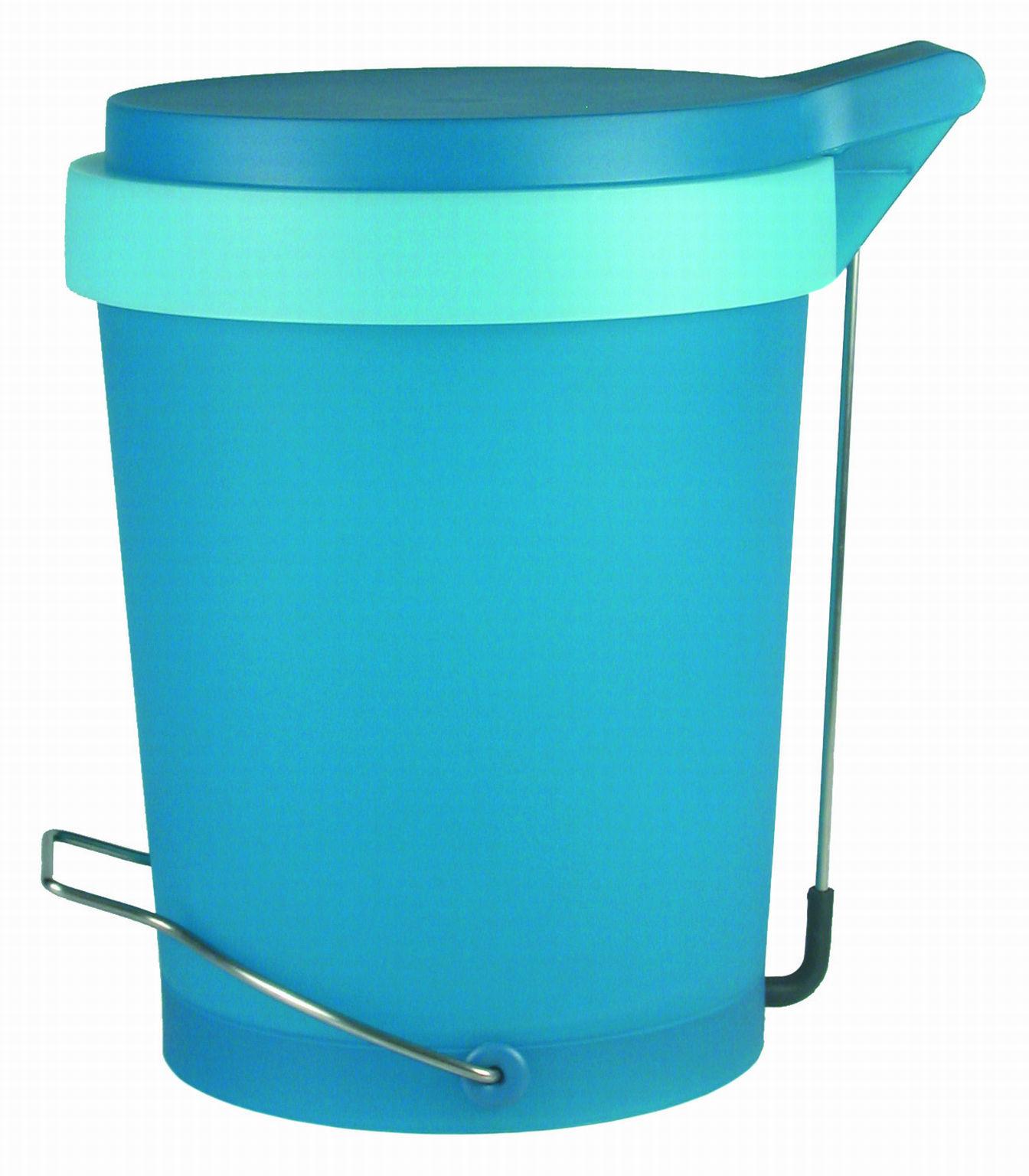 poubelle p dale tip 15 litres bleu clair authentics. Black Bedroom Furniture Sets. Home Design Ideas