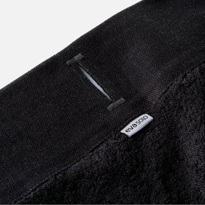 drap de bain serviette de bain 70 x 140 cm noir eva solo. Black Bedroom Furniture Sets. Home Design Ideas