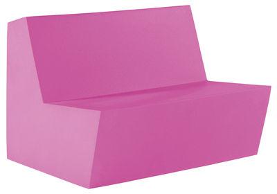 Foto Divano destro Primary Duo - 2 posti di Quinze & Milan - Rosa - Materiale plastico