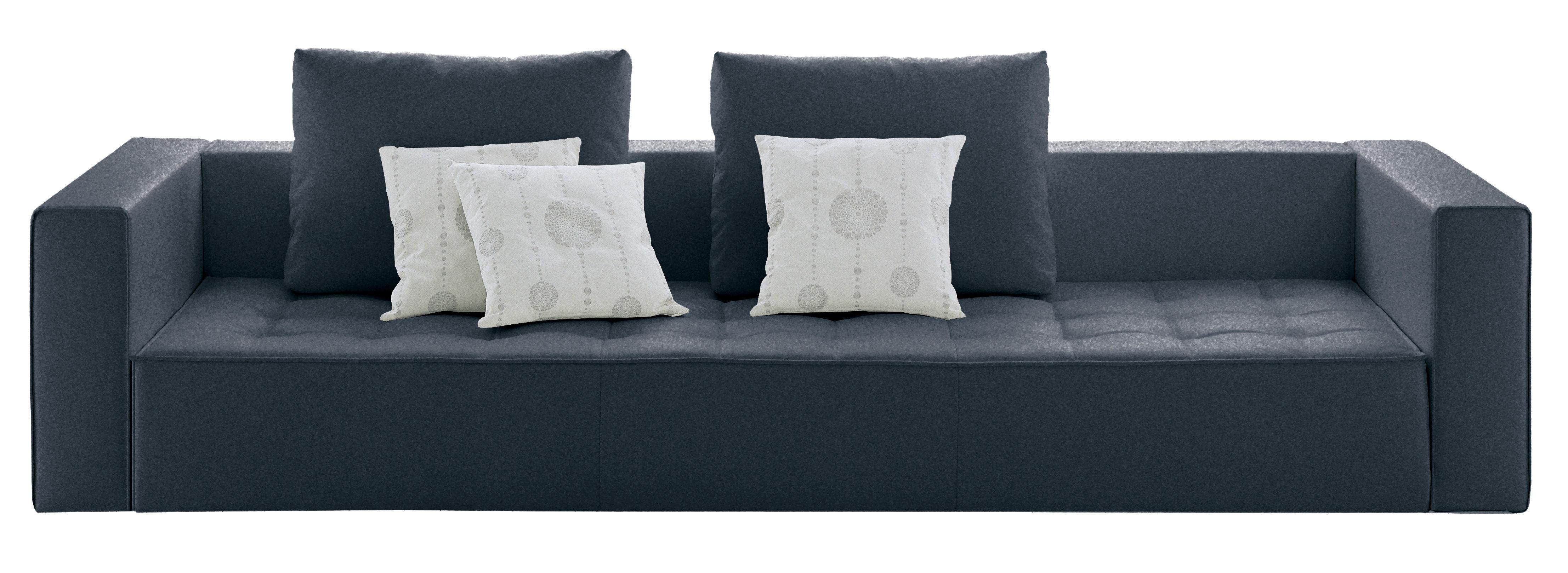 kilt stoff 3 sitzer zanotta sofa. Black Bedroom Furniture Sets. Home Design Ideas