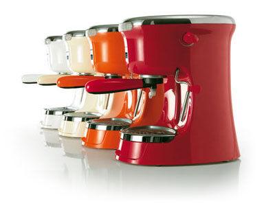 G Plus Electric espresso maker - Espresso coffee machine Red by Guzzini