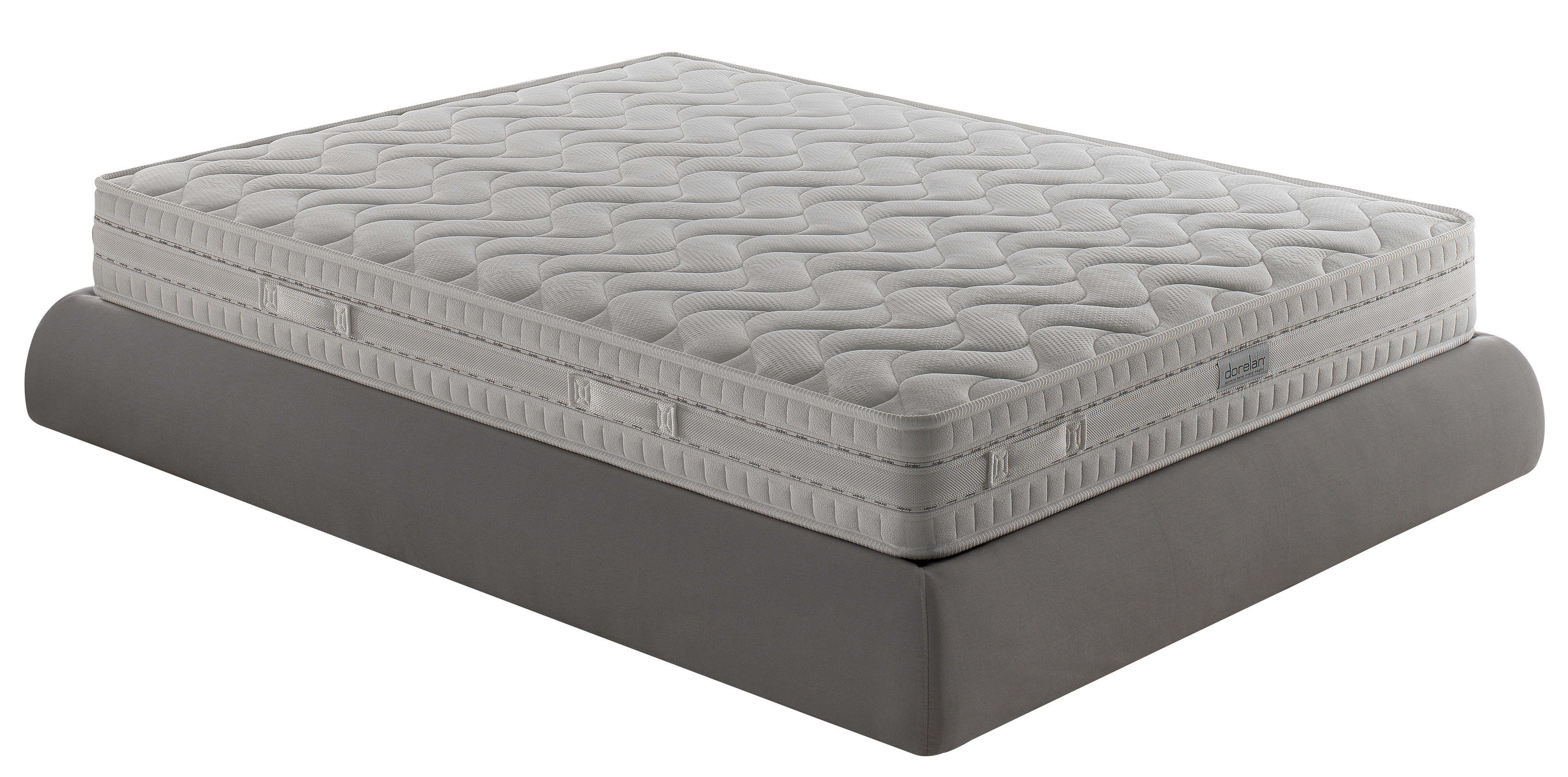 matelas 2 personnes top 160 x 200 cm ressorts 160 x 200 cm dorelan. Black Bedroom Furniture Sets. Home Design Ideas
