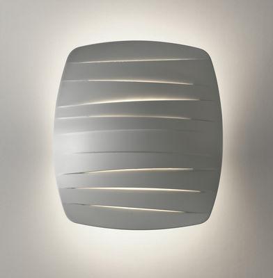 Foto Applique Flip - LED di Foscarini - Bianco - Materiale plastico