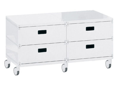 Plus Unit Storage unit - 4 drawers - On wheels