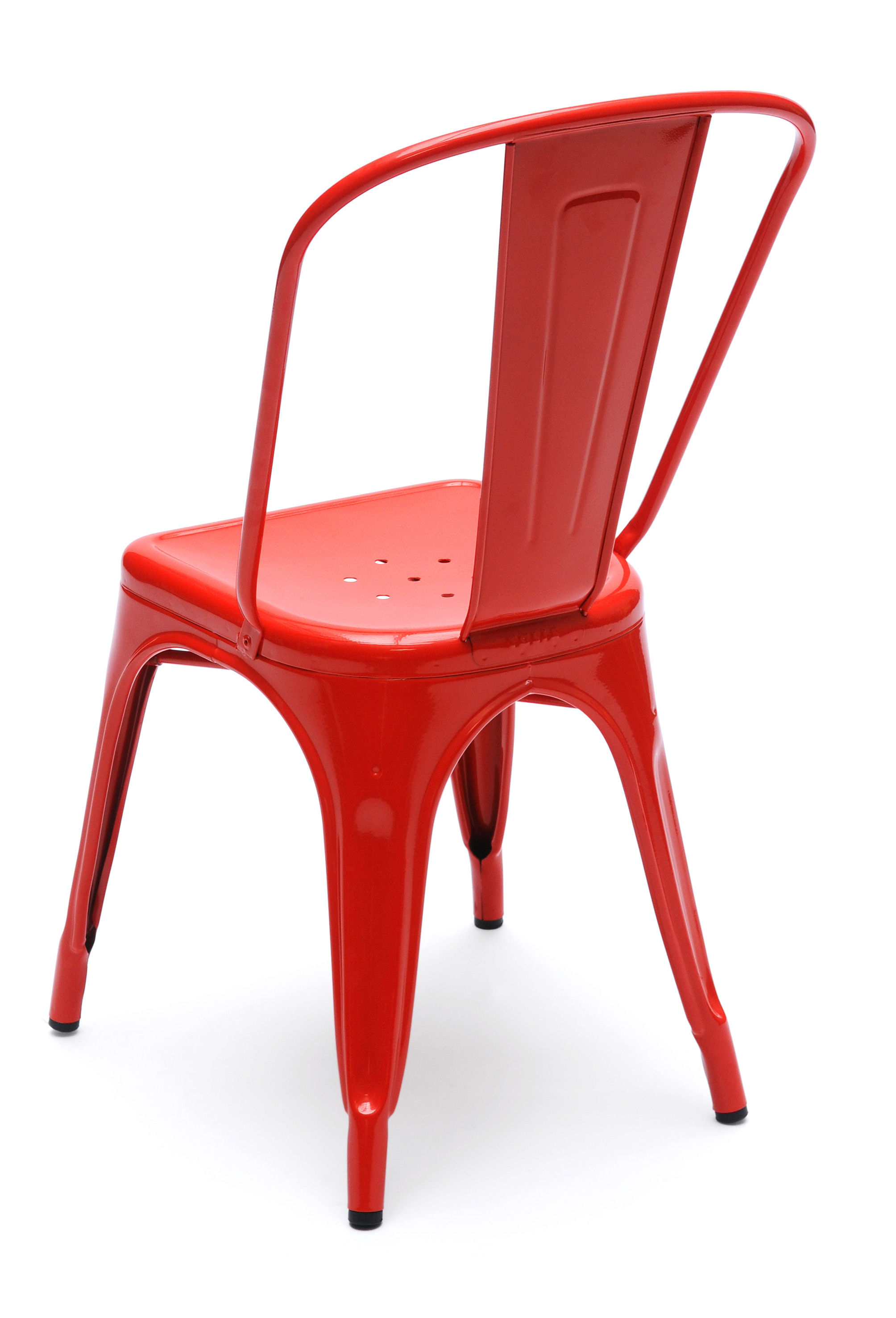 chaise a empilable acier int rieur acier brut brillant tolix. Black Bedroom Furniture Sets. Home Design Ideas