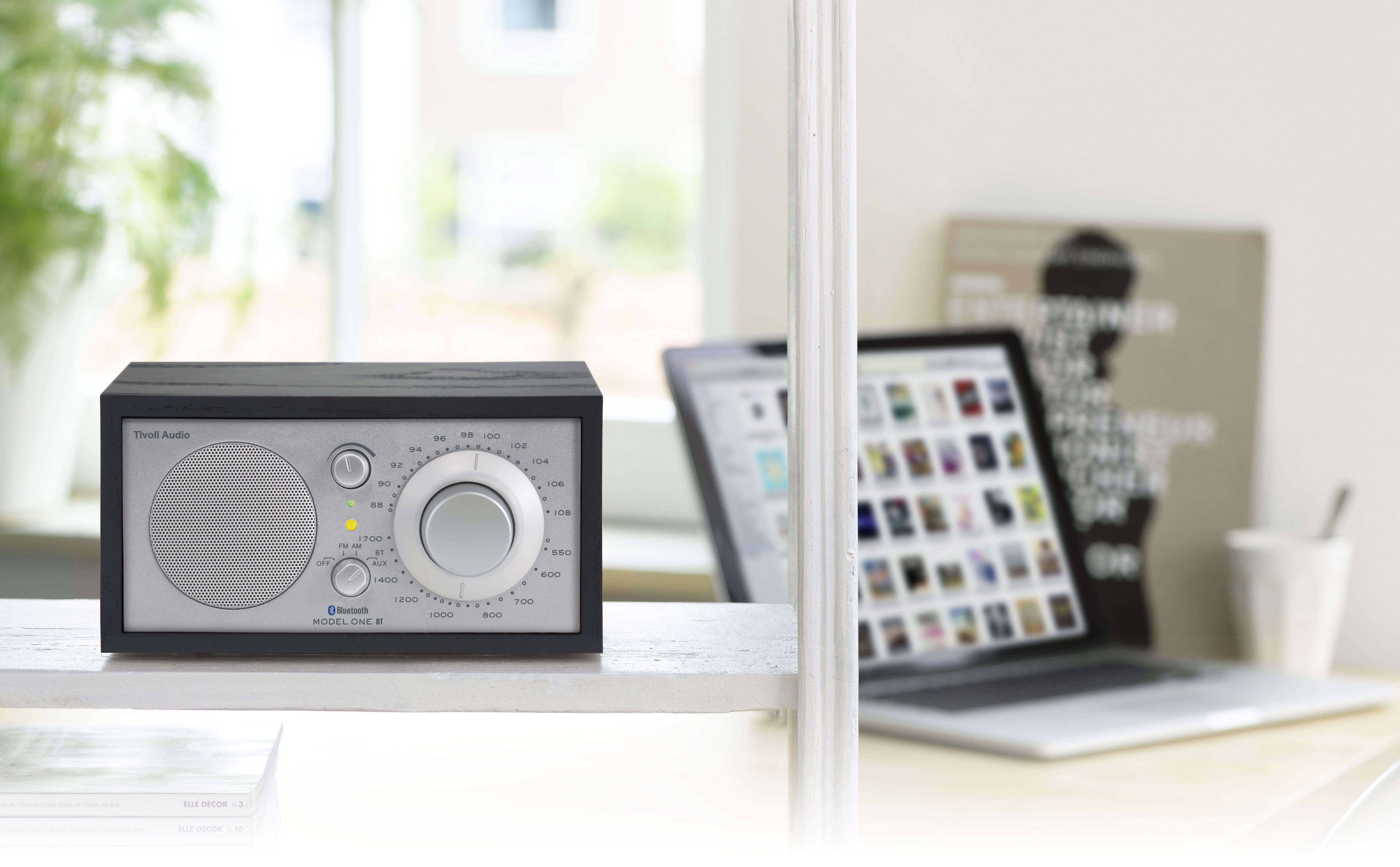 model one bt radio bluetooth speaker tainted black ash. Black Bedroom Furniture Sets. Home Design Ideas
