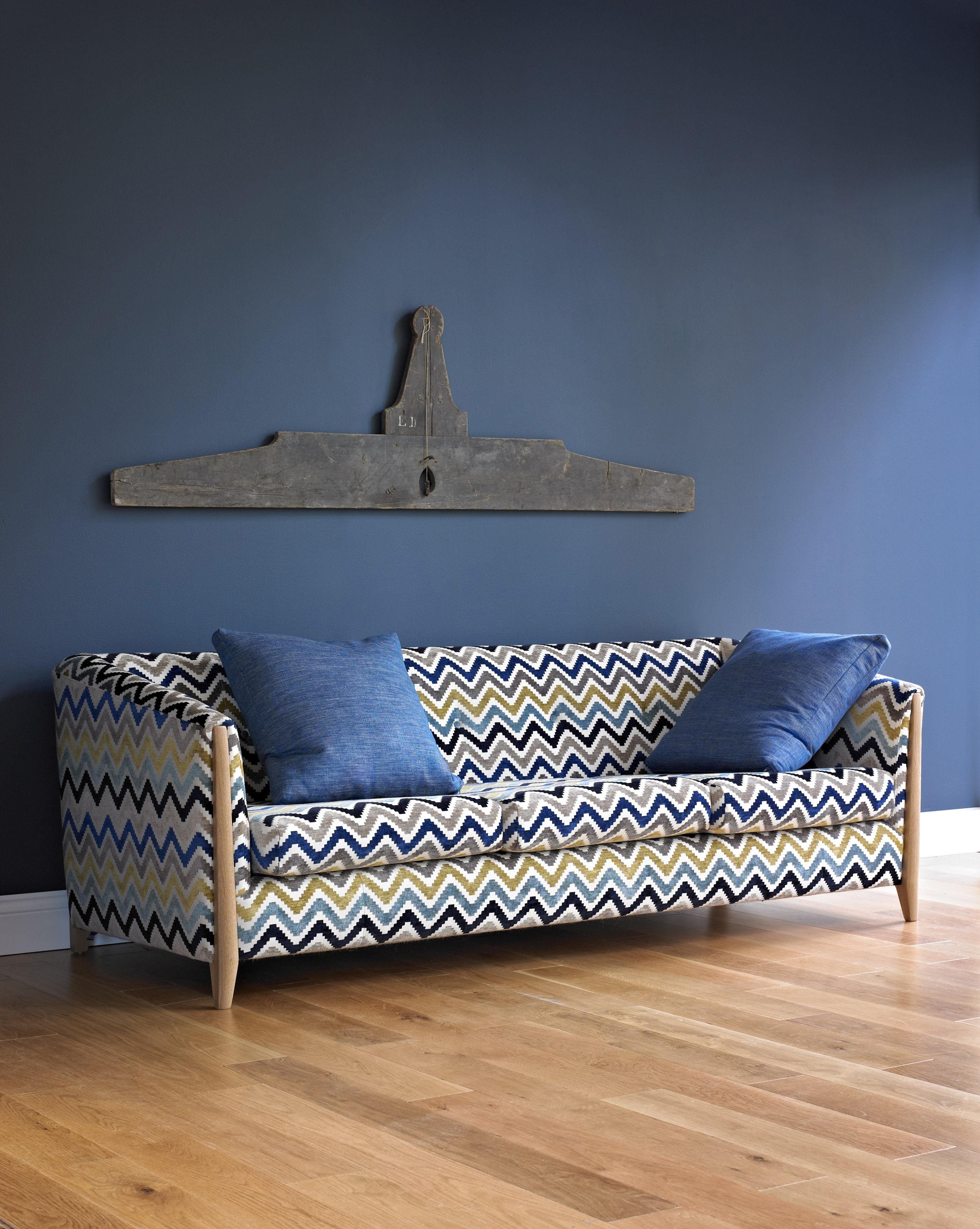 svelto straight sofa 3 seaters l 215 cm multicolore by. Black Bedroom Furniture Sets. Home Design Ideas