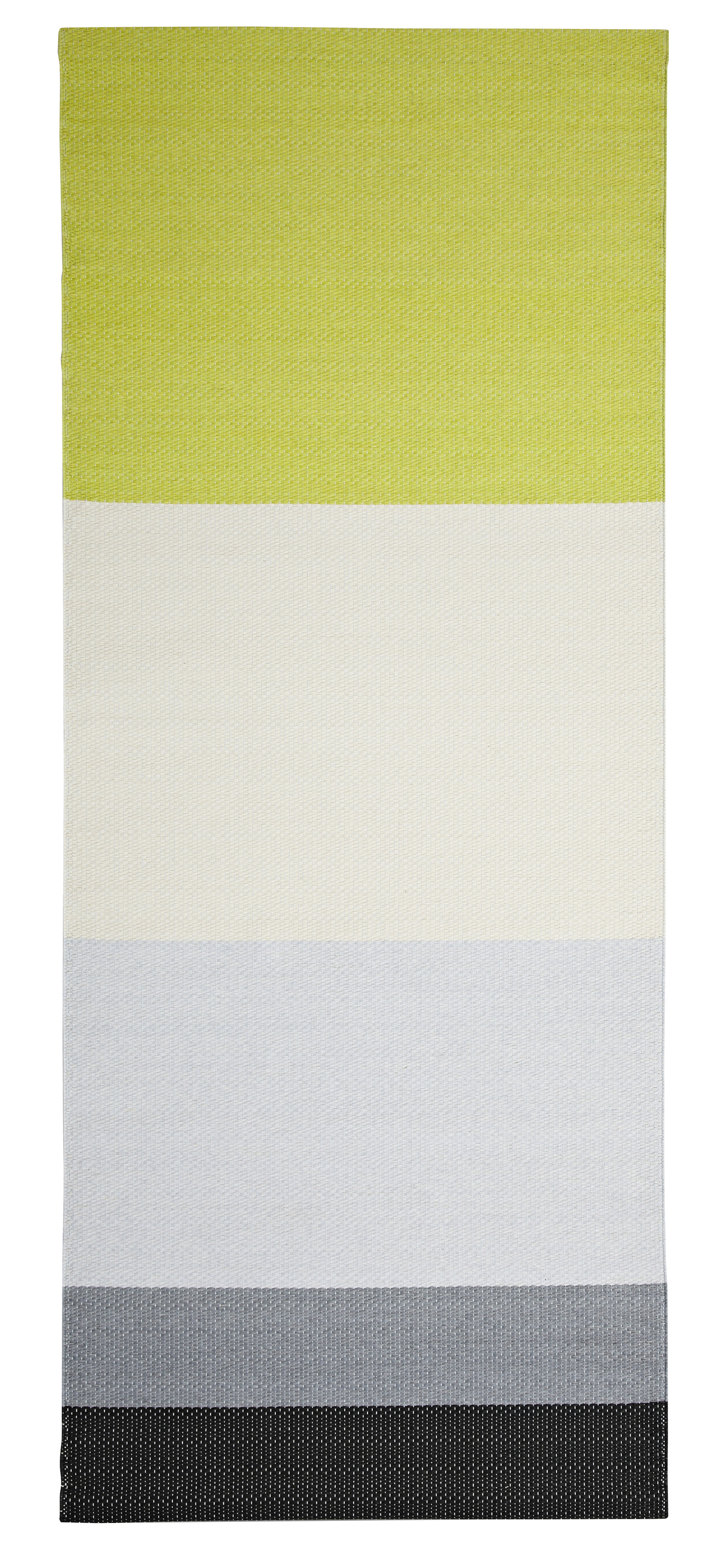 tapis paper 80 x 200 cm 100 papier citron acier hay. Black Bedroom Furniture Sets. Home Design Ideas