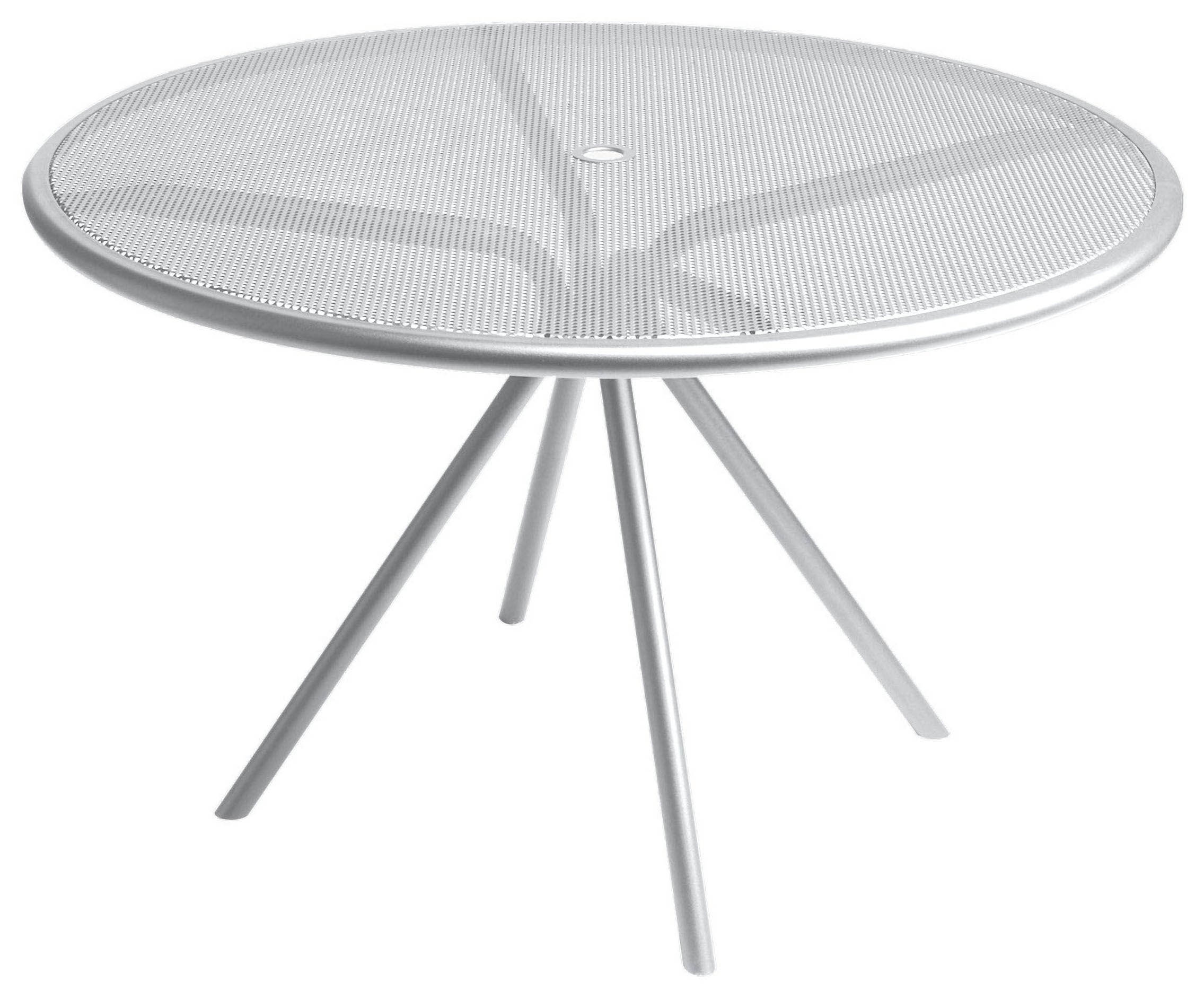 Table De Jardin Solid 122 Cm Aluminium Emu