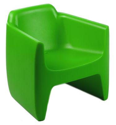 Foto Poltrona bambini My First Translation di Qui est Paul ? - Verde - Materiale plastico