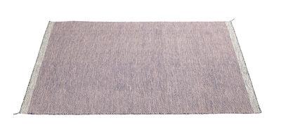 Foto Tappeto PLY / 170 x 240 cm - Tessuto a mano - Muuto - Rosa - Tessuto