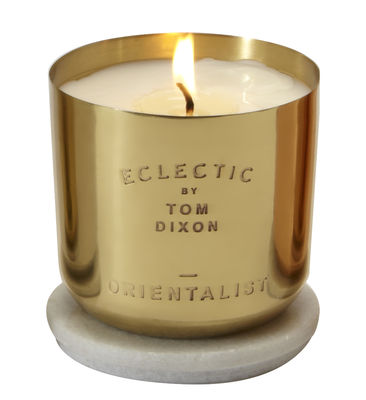 Foto Candela profumata Scent Orientalist di Tom Dixon - Oro - Metallo