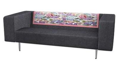 canap droit bottoni 2 places l 170 cm gris souris moooi. Black Bedroom Furniture Sets. Home Design Ideas