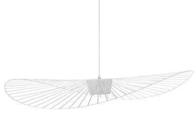 Foto Sospensione Vertigo - Ø 200 cm di Petite Friture - Bianco - Materiale plastico