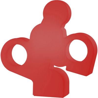 Foto Lampada da tavolo There / L 100 x H 100  cm - Rosso - Materiale plastico Slide