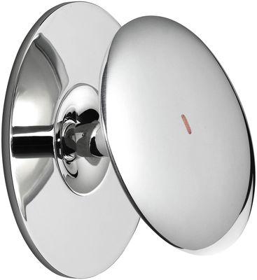 Foto Applique Back 1 LED - / Ø 10,3 cm - Interruttore sensibile di Flos - Cromato - Metallo