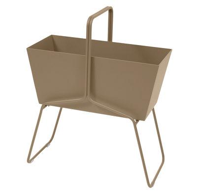 Foto Fioriera Basket alta / L 70 x H 84 cm - Fermob - Muscade - Metallo