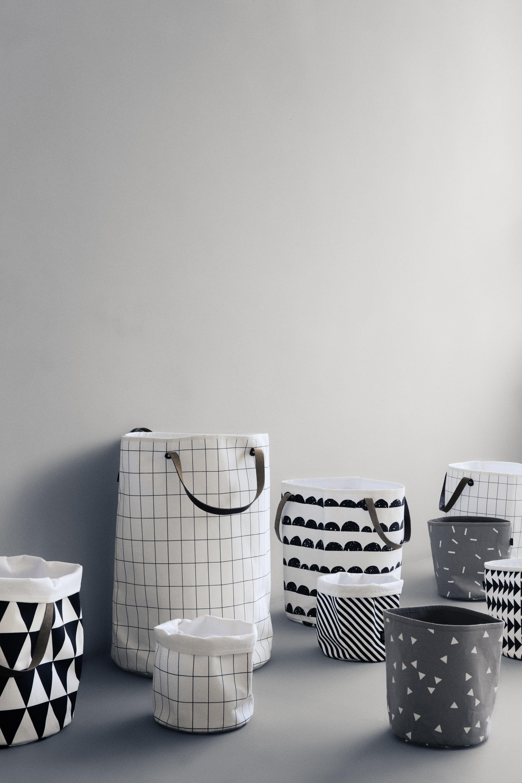 grid gr e s 22 x h 25 cm ferm living korb. Black Bedroom Furniture Sets. Home Design Ideas