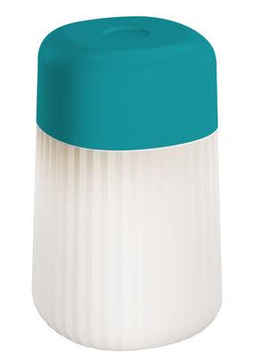 Fontana Arte Table lamp Koho - LED - Wireless and rechargeable Blue
