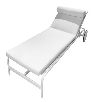 matelas pour bain de soleil rimini matelas blanc driade. Black Bedroom Furniture Sets. Home Design Ideas