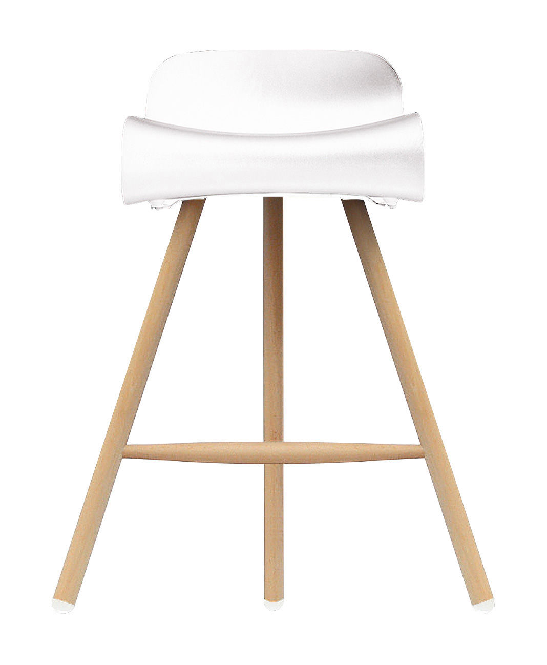 Very Impressive portraiture of  Bar stools > BCN Wood Bar stool H 66 cm Plastic & wood legs by with #946A37 color and 1068x1298 pixels