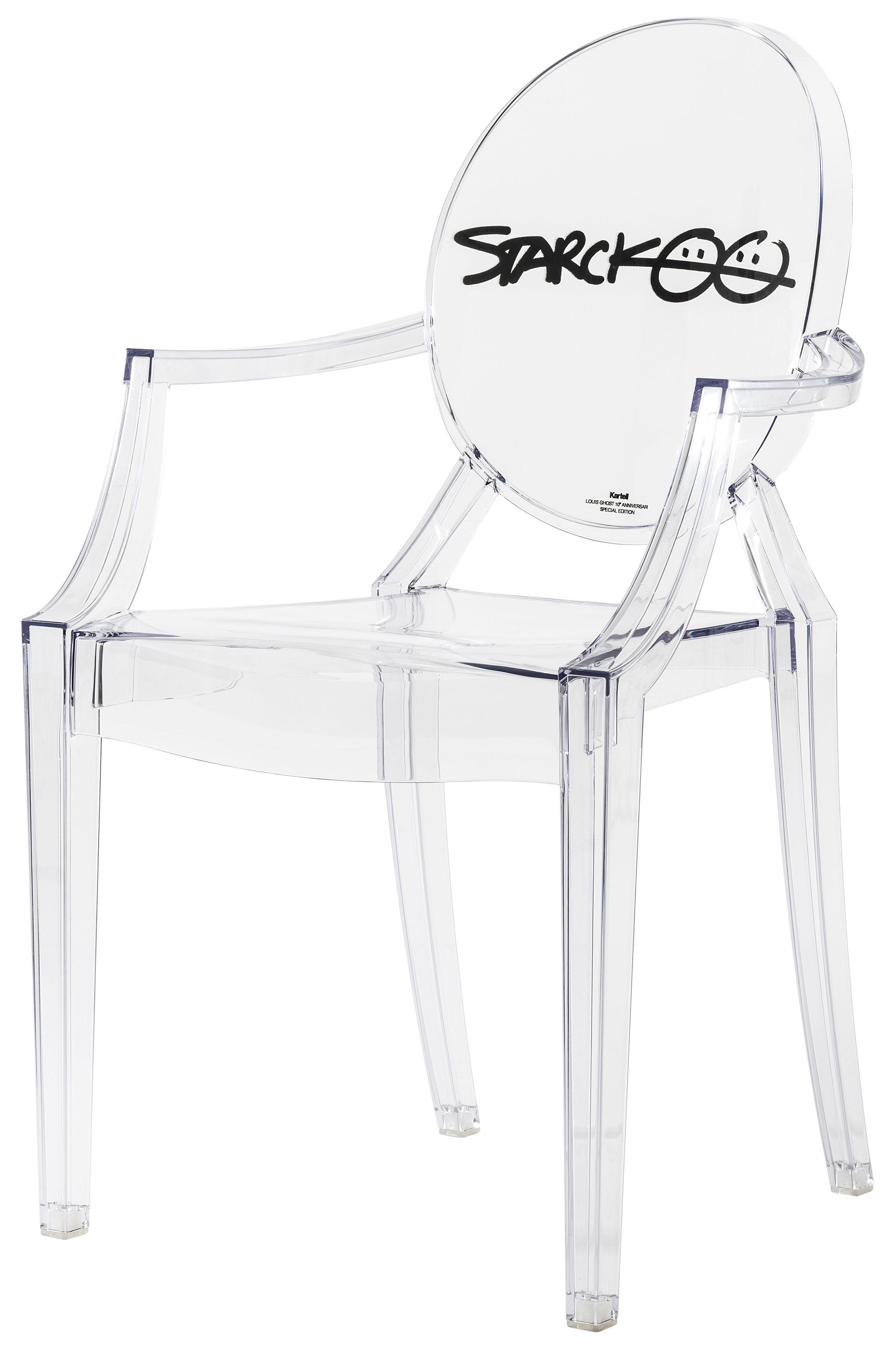 fauteuil empilable louis ghost collector transparent signature starck cristal signature de. Black Bedroom Furniture Sets. Home Design Ideas