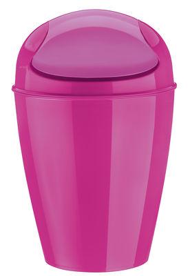 Pattumiera del m / h 44 cm 12 litri di koziol rosa opaco materiale plastico