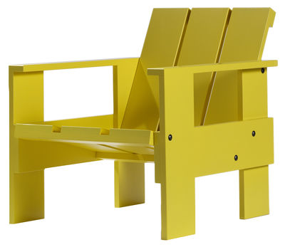 Fauteuil enfant Crate Chair Junior Rietveld by Rietveld Pop corn