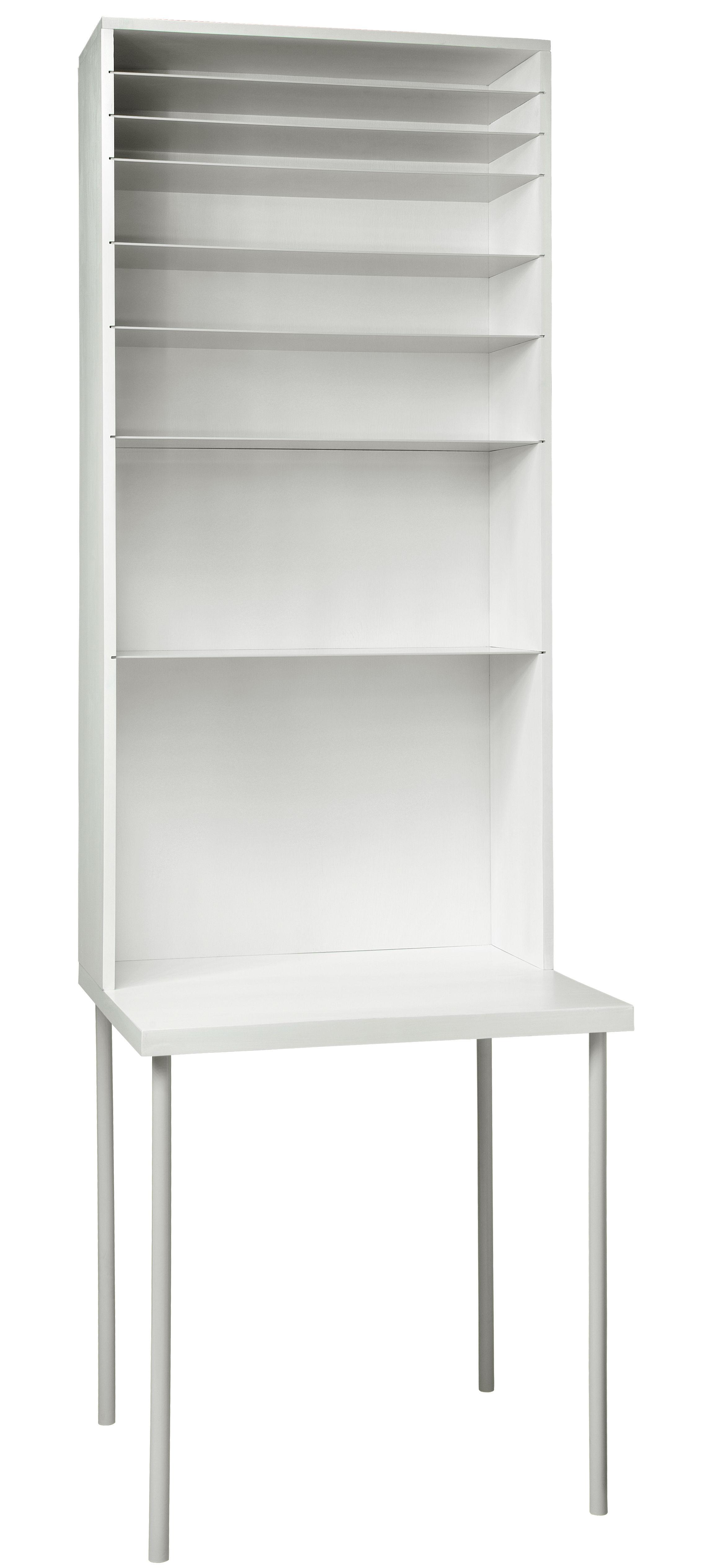 bureau hardworking large h 220 cm blanc droog. Black Bedroom Furniture Sets. Home Design Ideas