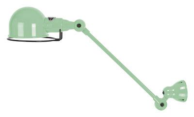 applique signal 1 bras l 30 cm vert d 39 eau brillant jield. Black Bedroom Furniture Sets. Home Design Ideas
