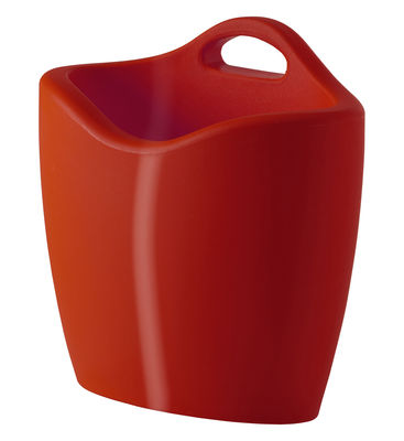 Mag Magazine holder - Lacquered version by Slide Lacquered red