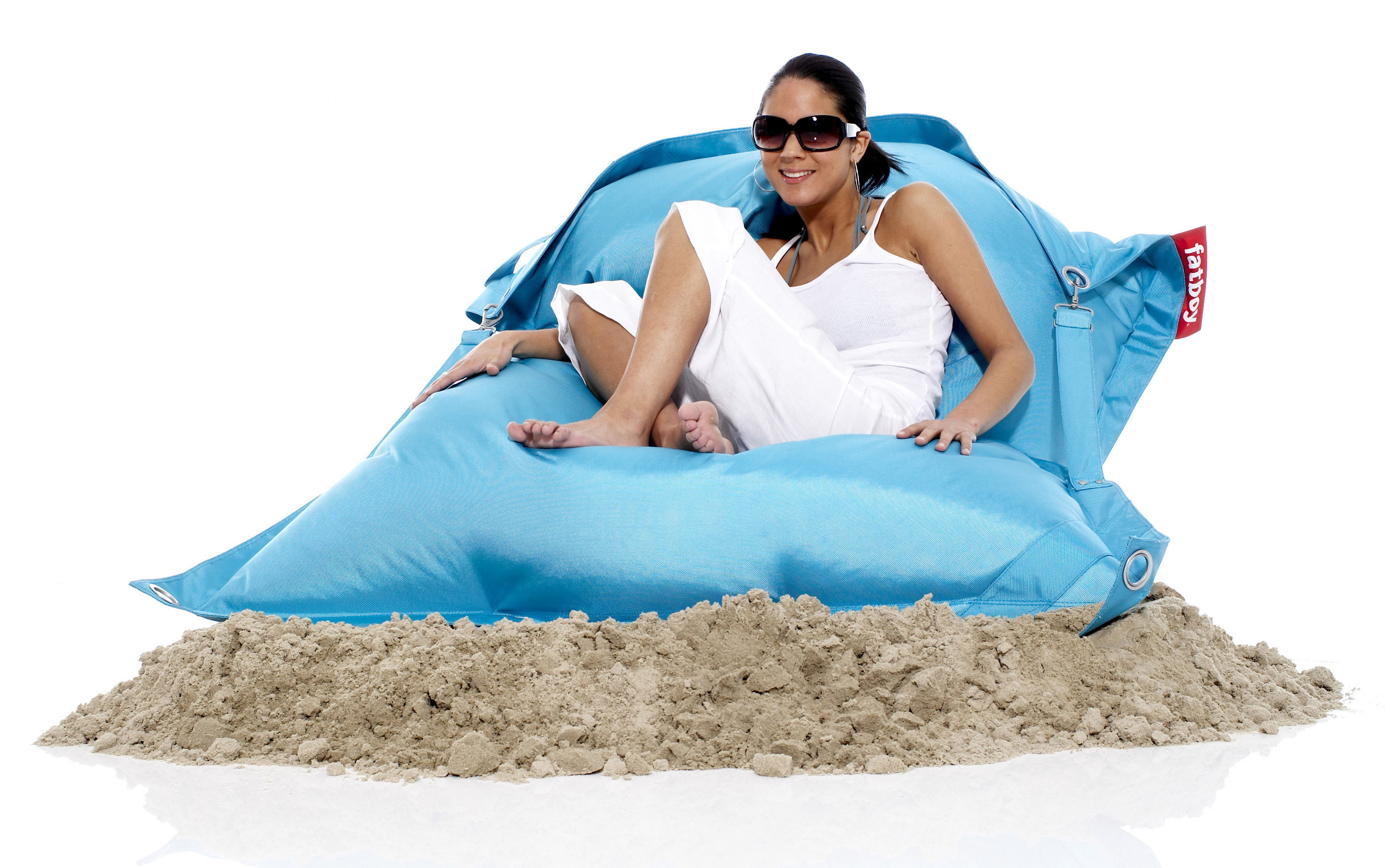 buggle up pouf outdoor use turquoise by fatboy. Black Bedroom Furniture Sets. Home Design Ideas