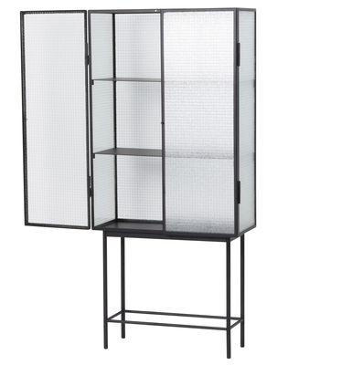 haze l 70 cm x h 155 cm drahtglas metall ferm. Black Bedroom Furniture Sets. Home Design Ideas