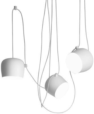 Foto Sospensione AIM - LED di Flos - Bianco - Metallo