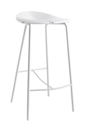 tabouret de bar ant h 68 cm plastique pieds m tal. Black Bedroom Furniture Sets. Home Design Ideas