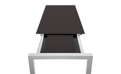 Les concepteurs artistiques table salle a manger wenge for Table salle a manger extensible wenge