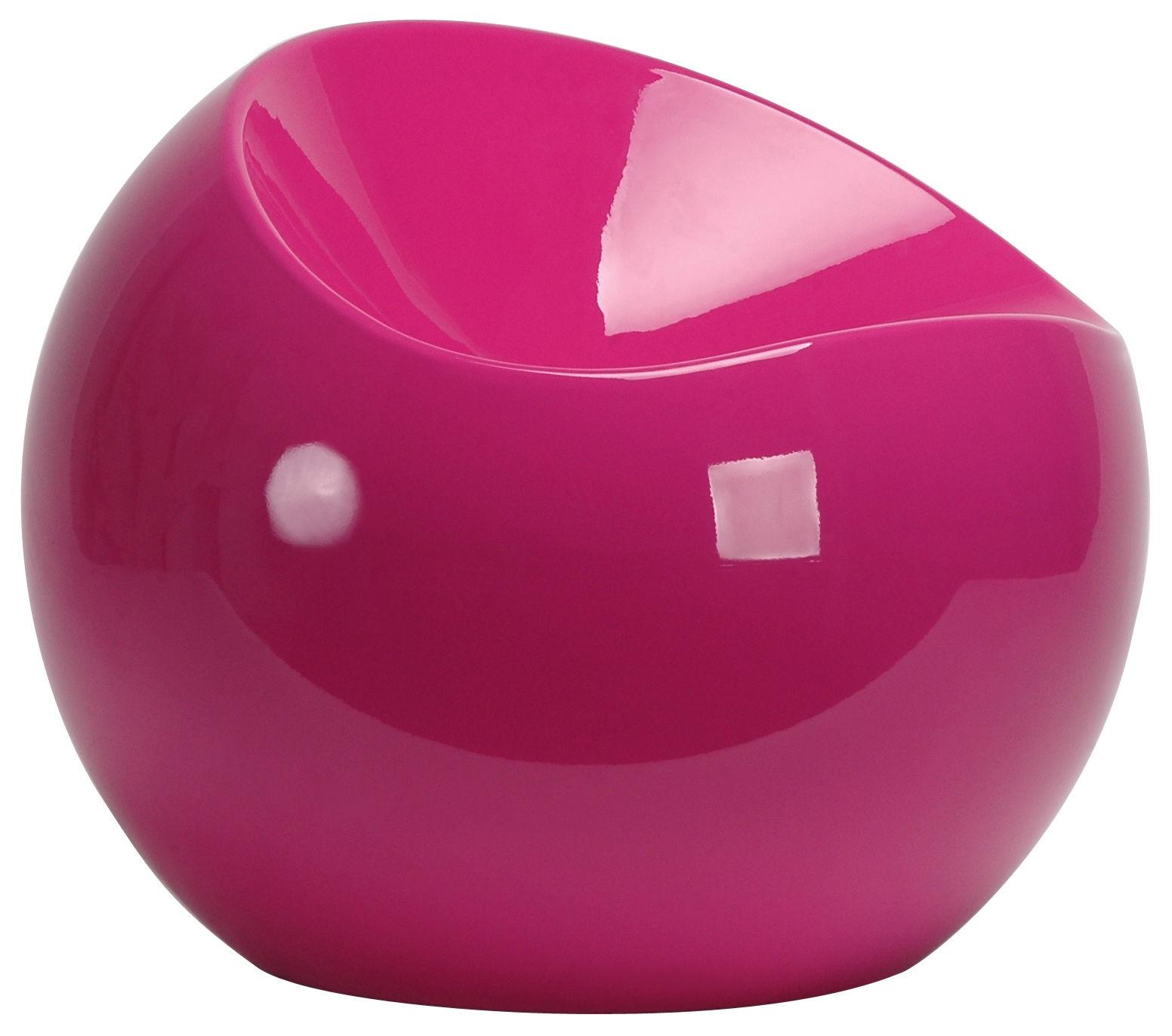 pouf ball chair fuchsia xl boom. Black Bedroom Furniture Sets. Home Design Ideas