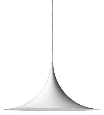 Foto Sospensione Semi Ø 47 cm - Rieditata 1968 - Gubi - Semi - Bianco opaco - Metallo