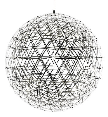 Suspension Raimond LED Ø 199 cm Moooi Métal brillant en Métal