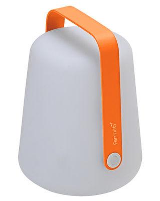 Lampe sans fil Balad LED / H 25 cm - Recharge USB - Fermob Carotte en Métal